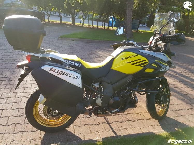 Suzuki V Strom 1000 2017 prawy profil