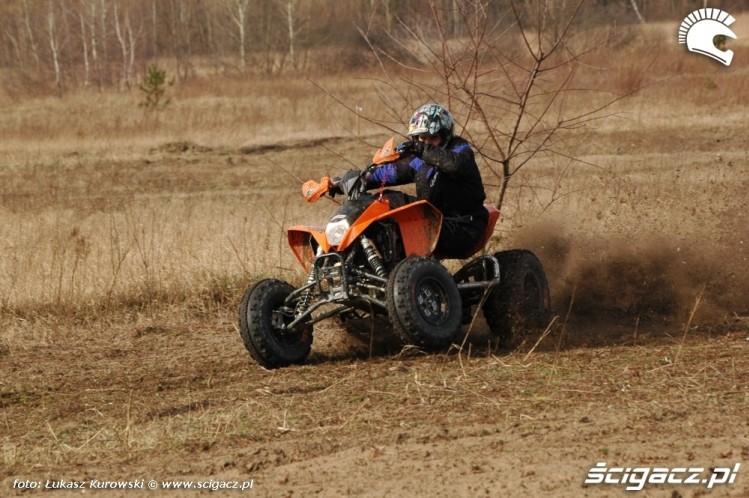 quad sportowy KTM XC525