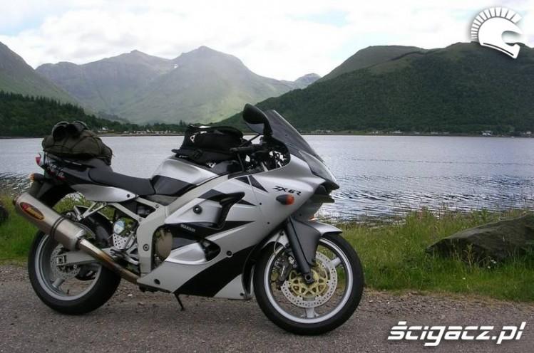 Kawasaki ZX6R 2002 turystycznie