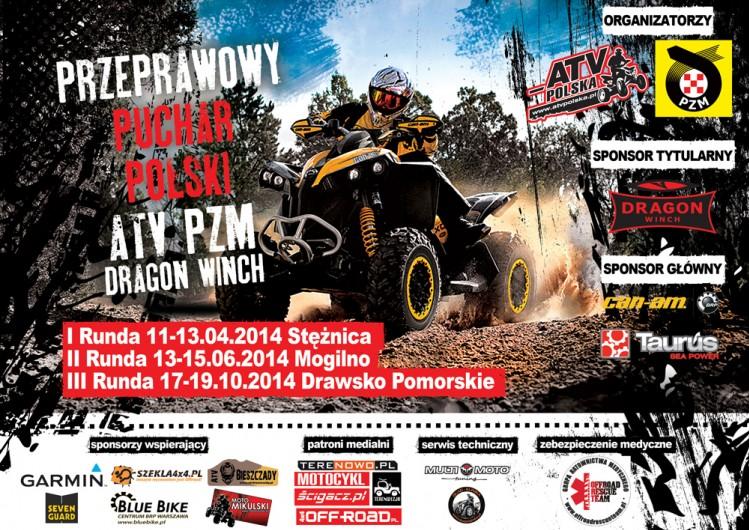 Plakat Przeprawowy Puchar Polski 2014
