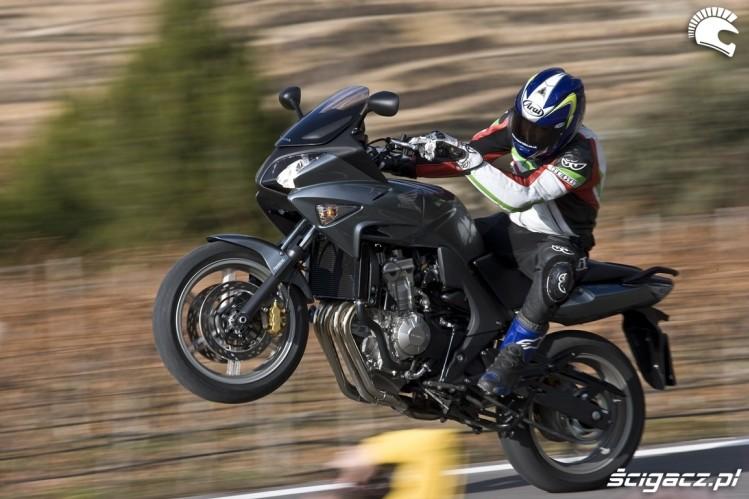 Honda CBF600 wheelie