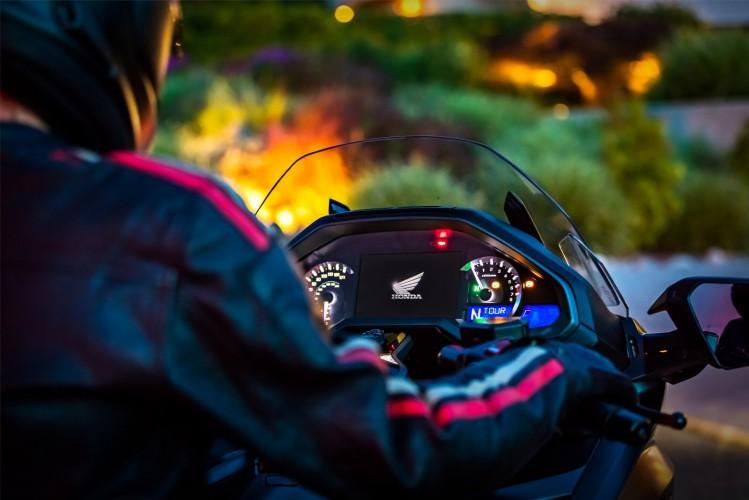 Honda GL1800 Goldwing 2018 kokpit nioc