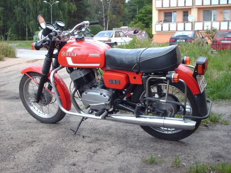 Cezet 350 to rasowy motocykl turystyczny picture