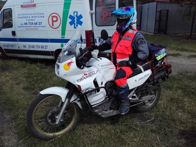 Moto ambulans...