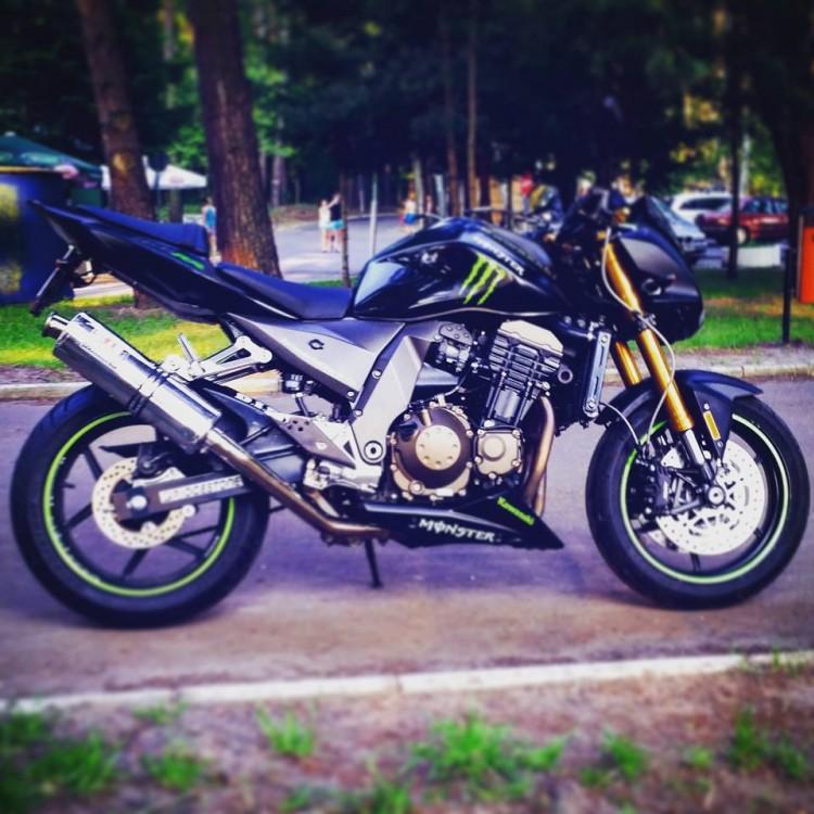 Kawasaki z 750 monster...