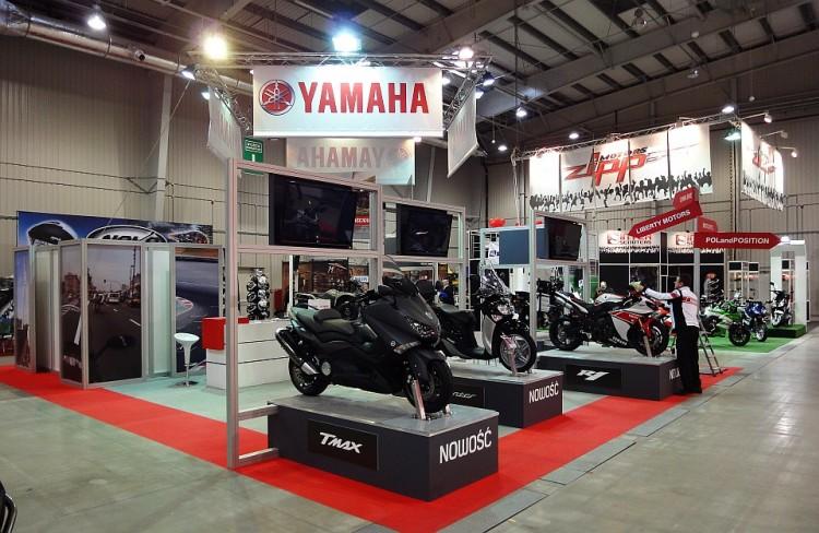 Yamaha targi motocykli...