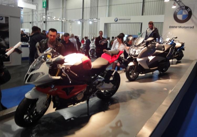 motocykle BMW na targach