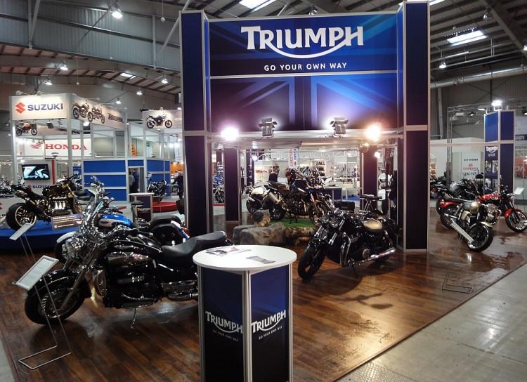Triumph - stoisko...