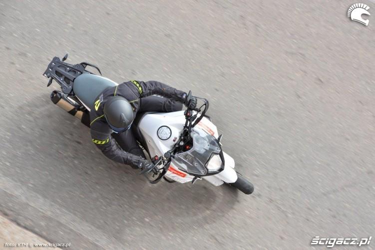 KTM 1290 Super Adventure od gory