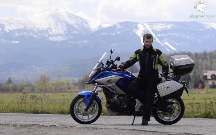 nawigacja motocyklowa test nc750x