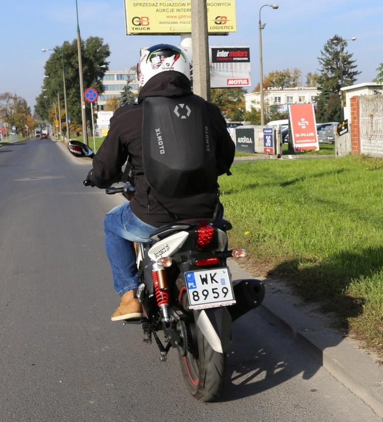 XL Moto Slipstream plecak motocyklowy tyl