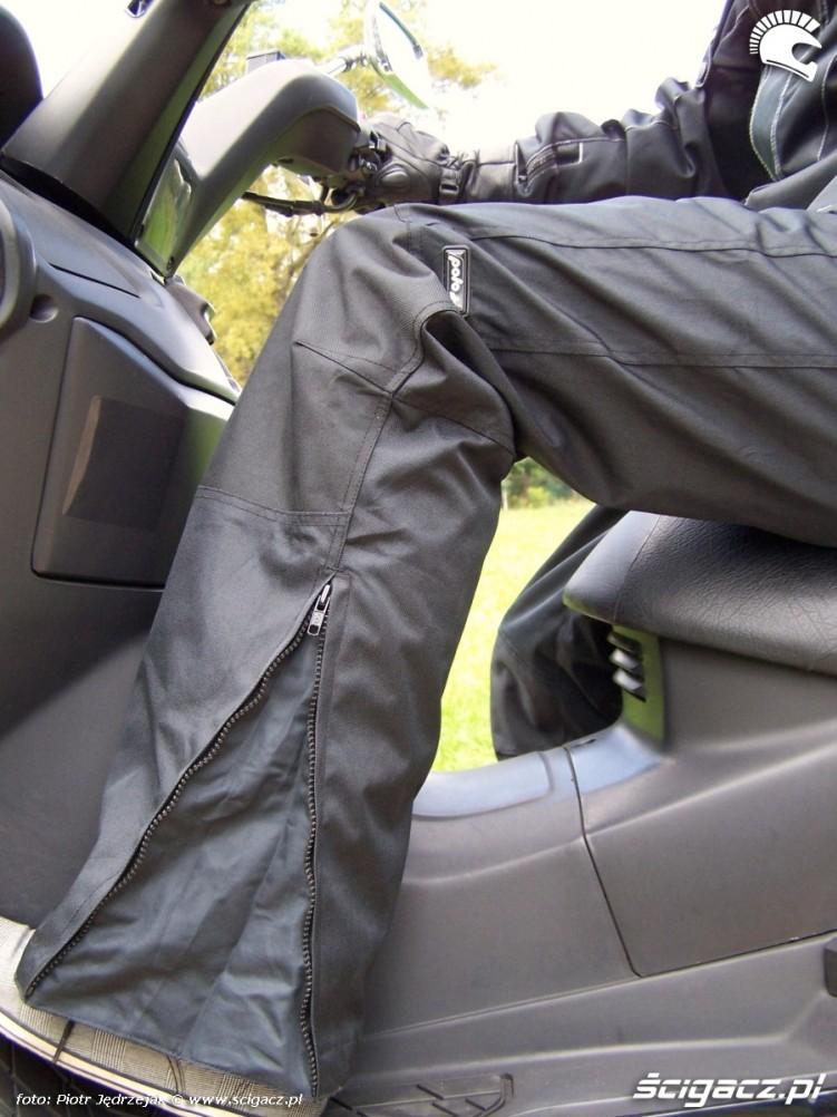 rozsuwane nogawki polo moto