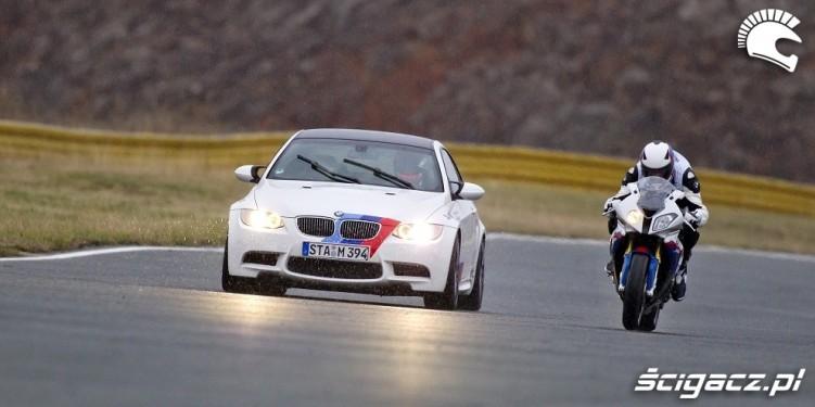 jazda BMW S1000RR M3 wyscig