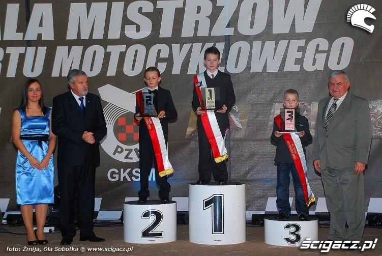 Mistrzowie Polski 2009 Motocross MX 65