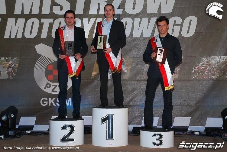 Mistrzowie Polski 2009 Superstock 1000