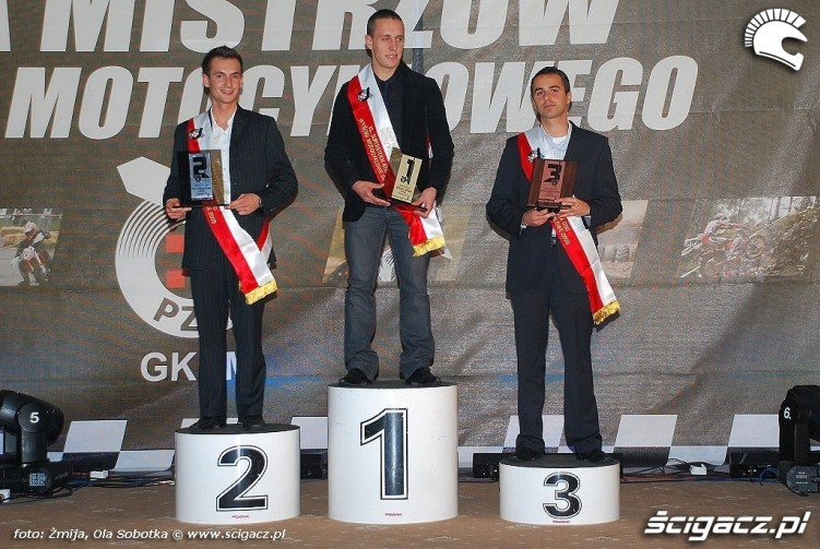 Mistrzowie Polski 2009 klasa Superstock 600