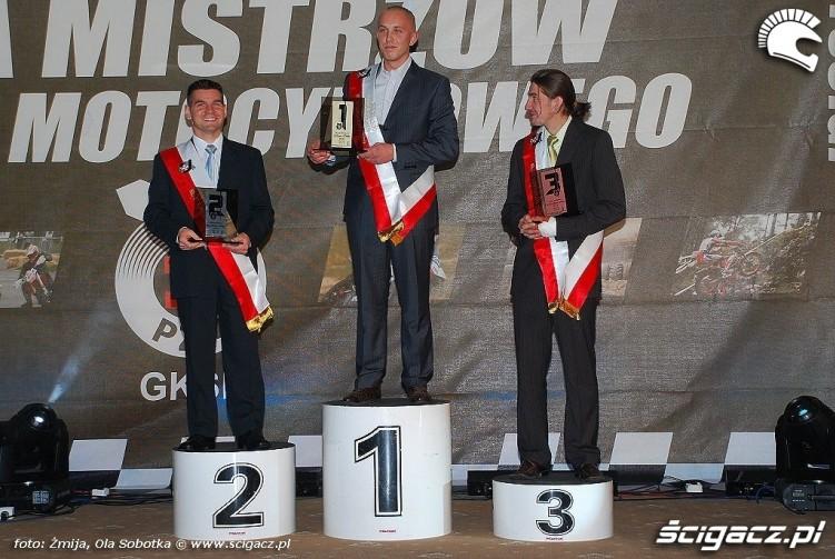Mistrzowie Polski Supermoto klasa S1 2009