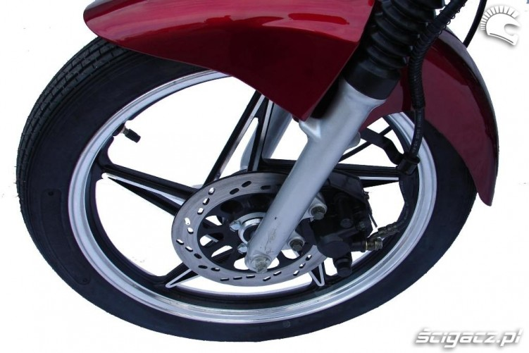 Kingway Naked 50cc 18-calowe kolo