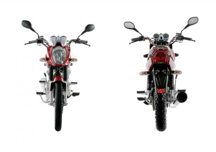 zdj u0119cia  z150 romet motocykl przod tyl