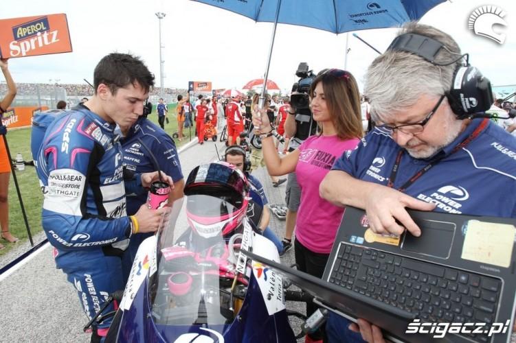 Dziewczyna Espargaro Misano Grand Prix San Marino