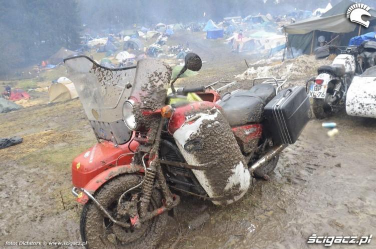 ublocony motocykl