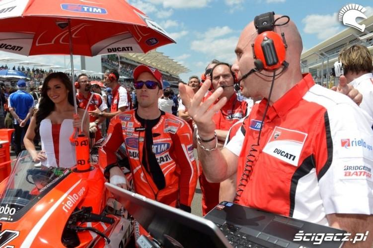 Ducati przed startem Grand Prix of Americas Austin 2013