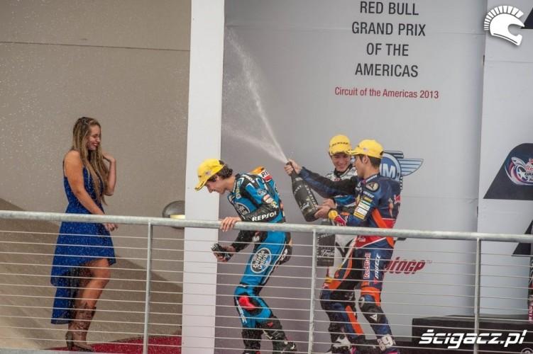Dziewczyny i szampan Grand Prix of Americas Austin USA 2013