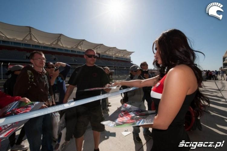 Hostessa Ducati Grand Prix of Americas Austin 2013