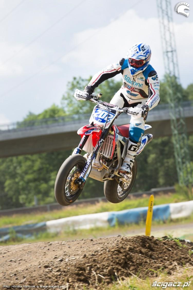 Peter Vorlicek FIM Supermoto GP Czech