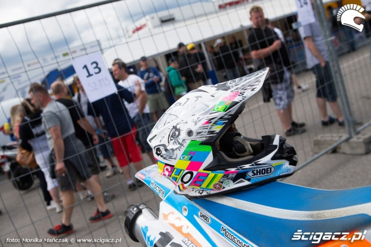 kask FIM Supermoto GP Czech