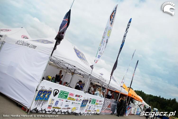namioty FIM Supermoto GP Czech