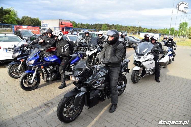 California Superbike School Poznan rano