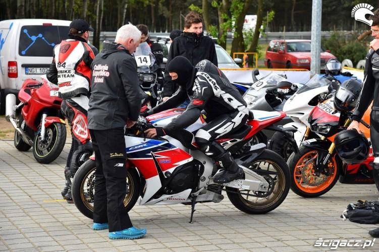 Czarek California Superbike School Poznan