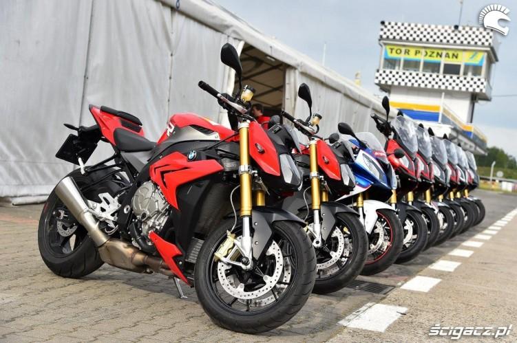 Motocykle trenerow California Superbike School Poznan