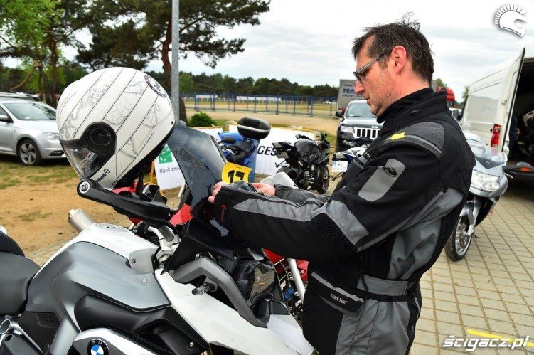Numer Startowy California Superbike School Poznan