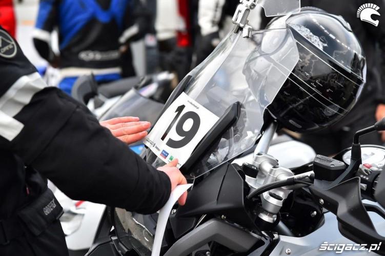 Numeracja California Superbike School Poznan