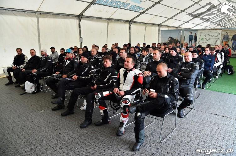 Uczniowie California Superbike School Poznan