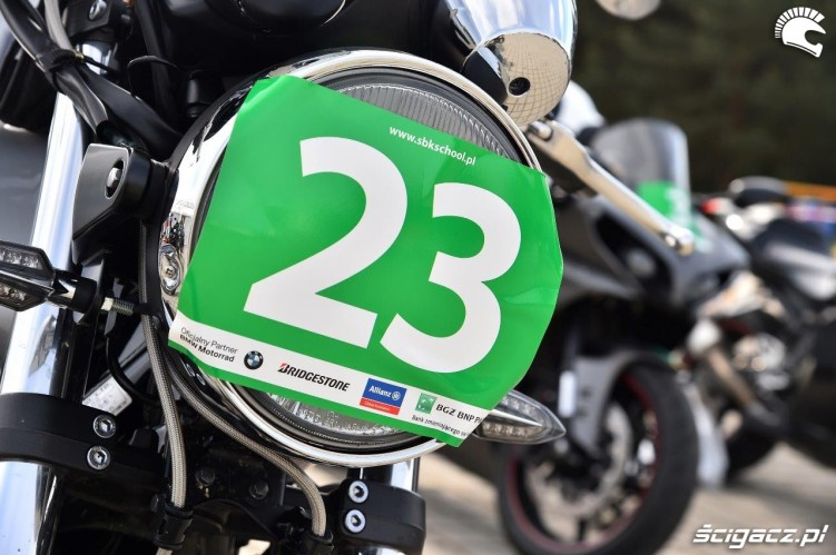 Zieloni California Superbike School Poznan