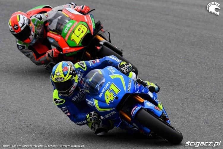 Suzuki Aprilia Grand Prix Niemiec 2016 Sachsenring
