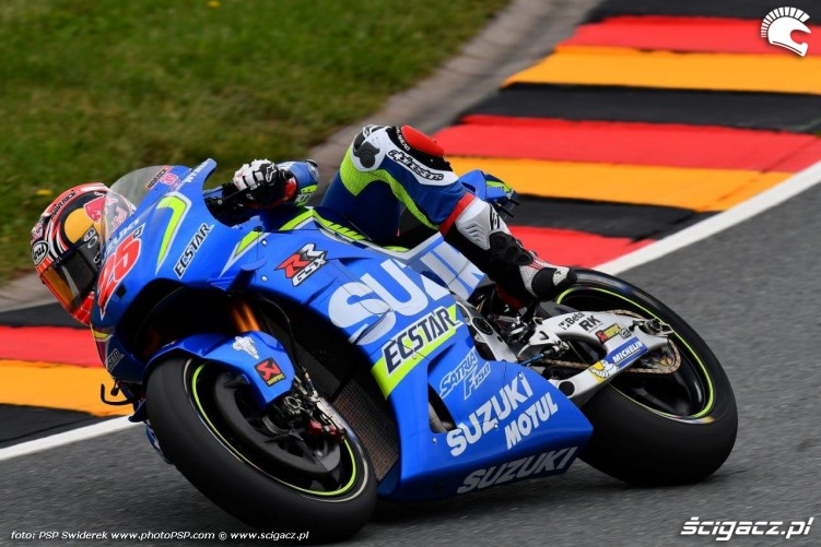Suzuki Grand Prix Niemiec 2016 Sachsenring