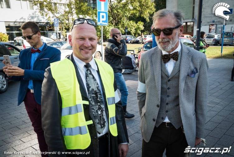 uczestnicy distinguished gentleman s ride warszawa