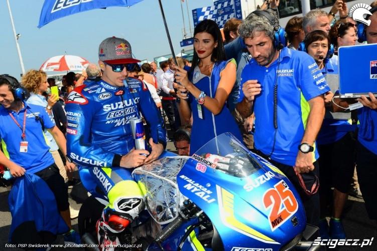Vinales grid Grand Prix San Marino Misano 2016