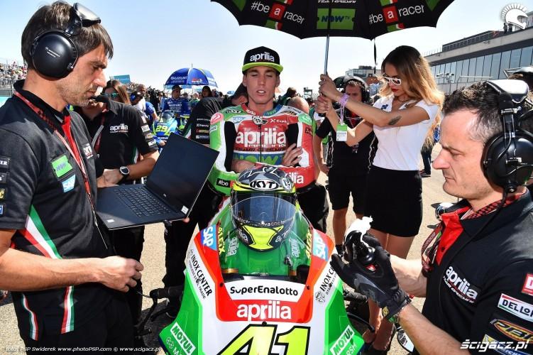 MotoGP Aragon Aprilia Gresini 41 Aleix Espargaro 16