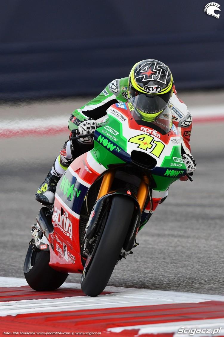 MotoGP Austin Aleix Espargaro 41 Aprilia 3
