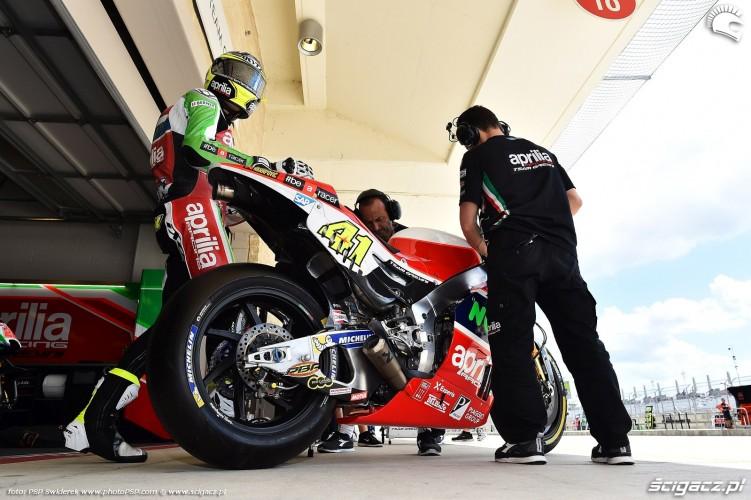 MotoGP Austin Aleix Espargaro 41 Aprilia 8