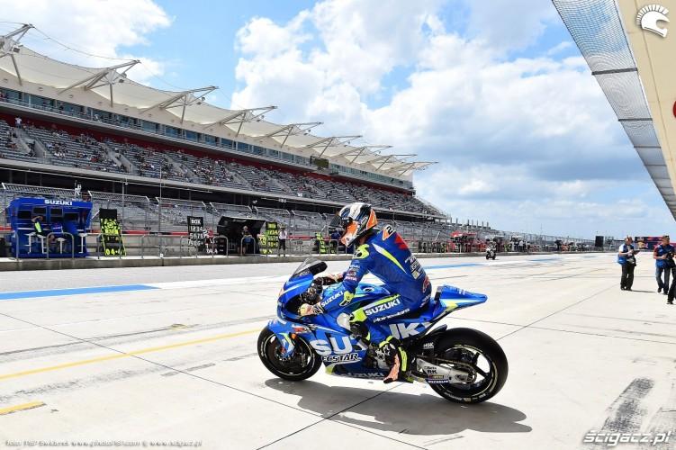 MotoGP Austin Alex Rins 42 Suzuki 6