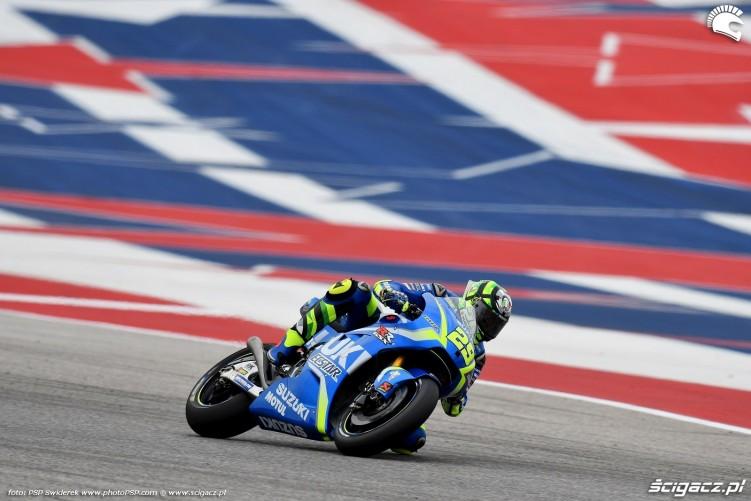 MotoGP Austin Andrea Iannone 29 Suzuki 9