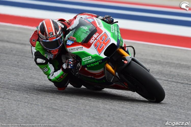 MotoGP Austin Sam Lowes 22 Aprilia 7