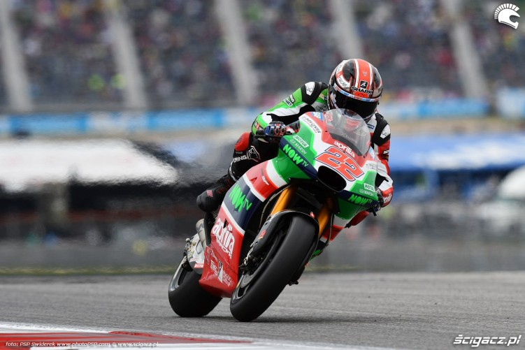 MotoGP Austin Sam Lowes 22 Aprilia 8