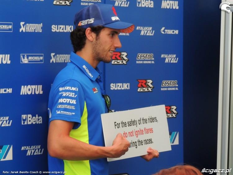 MotoGP Brno 2018 Alex Rins 2